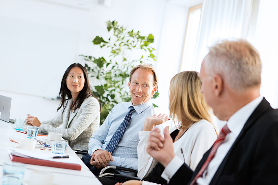 Bild från möte, verksamhetsbild